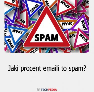 Jaki procent emaili to spam?
